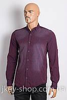Рубашка с длинным рукавом мужская FBI FACTOR 7004-001 RED/NAVY STRIPE