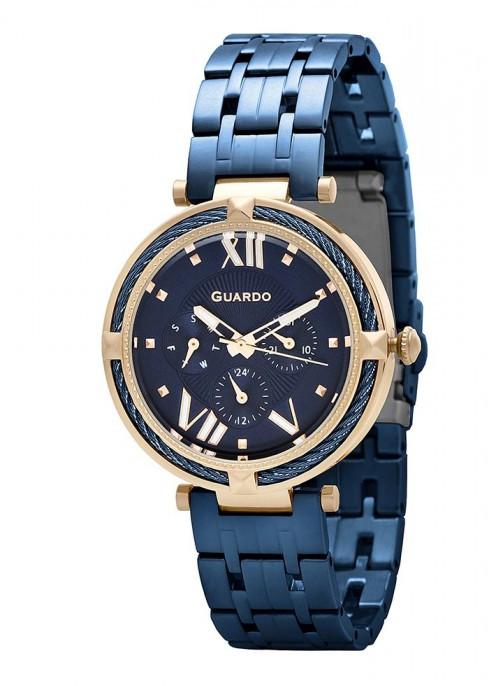 Женские наручные часы Guardo T01030(m1) RgBlBl