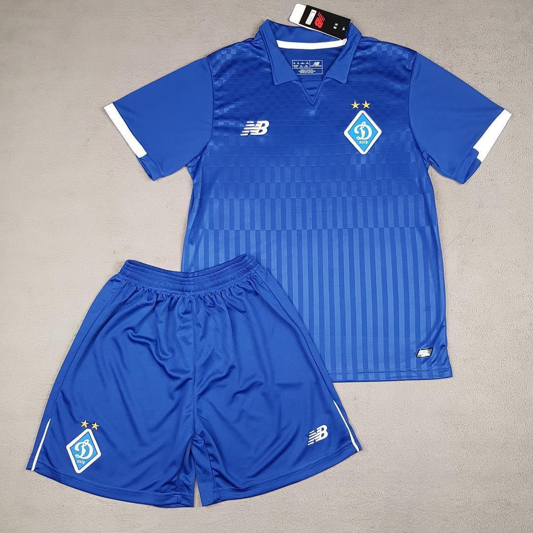 Футбольная форма Динамо (сезон 2018-2019) синяя