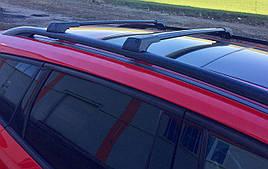 Поперечины на рейлинги без ключа для Peugeot 807 (2 шт)