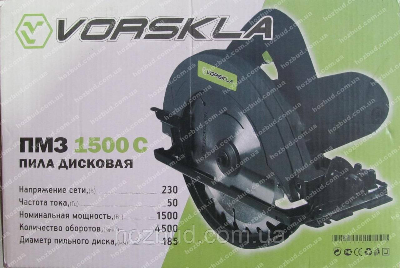 Пила дисковая Vorskla ПМЗ 1500 С