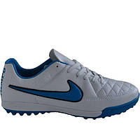 Сороконожки футбольные Nike Tiempo белые
