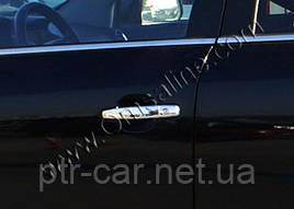 Накладки на ручки (4 шт., нерж.) - Opel Signum 2005+ рр.