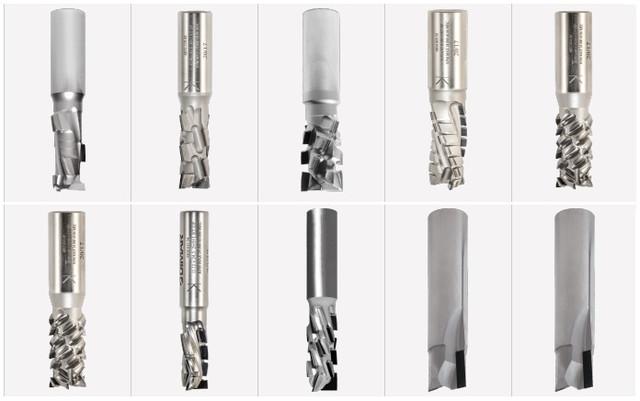Фрезы концевые DIMAR с алмазной напайкой (PCD)