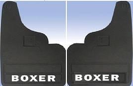 Задние брызговики прямые (2 шт) - Peugeot Boxer 1994-2006 гг.
