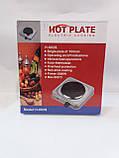Плитка электрическая  однокомфорочная  Hot plate  H-002S, фото 2