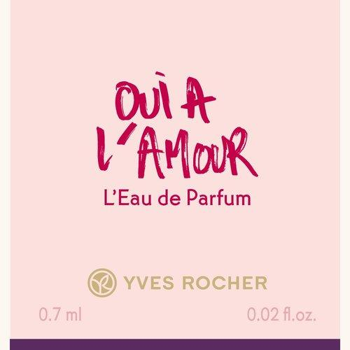 Парфюмерная Вода «Oui à l'Amour», 0,7 мл
