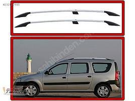 Рейлинги Хром - Renault Logan MCV 2008-2013