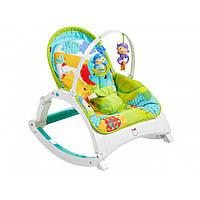 Дитяче крісло-гойдалка Fisher-Price Ростемо разом (CMR10)