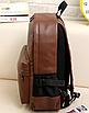 Рюкзак мужской кожаный Radim коричневый, фото 3