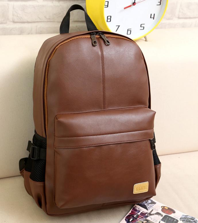 Рюкзак мужской кожаный Radim коричневый