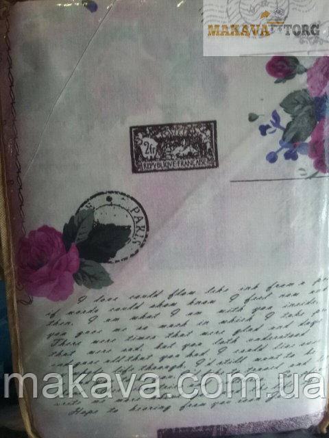 ПРОСТЫНЬ ЕВРО САТИН ГОЛД 200 Х 220 см