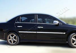 Зовнішня окантовка вікон (4 шт, нерж) - Opel Vectra C 2004+ рр.