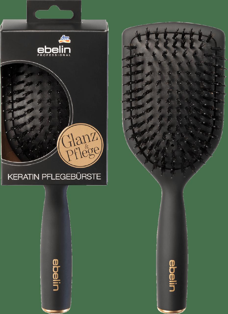 Расческа для волос ebelin Professional Keratin-Pflegebürste Paddle