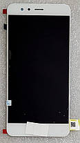 Модуль (сенсор + дисплей) Huawei P10 Lite (WAS-L21/WAS-LX1/WAS-LX1A) білий, фото 3