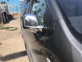 Накладки на зеркала (2 шт., пласт.) - Peugeot Expert 2017+ гг.