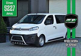 Кенгурятник WT003 (нерж) - Peugeot Expert 2017+ гг.