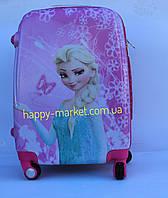 Чемодан дорожный детский с кодовым замком 52 см ручная кладь Холодное  Сердце Frozen 11961-1 fd3c7b65ef4