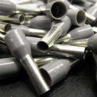 Наконечник Weidmueller на провод, Один Провод, 12 AWG, 10 мм, 18 мм, Серый (250 шт.) - 9026010000