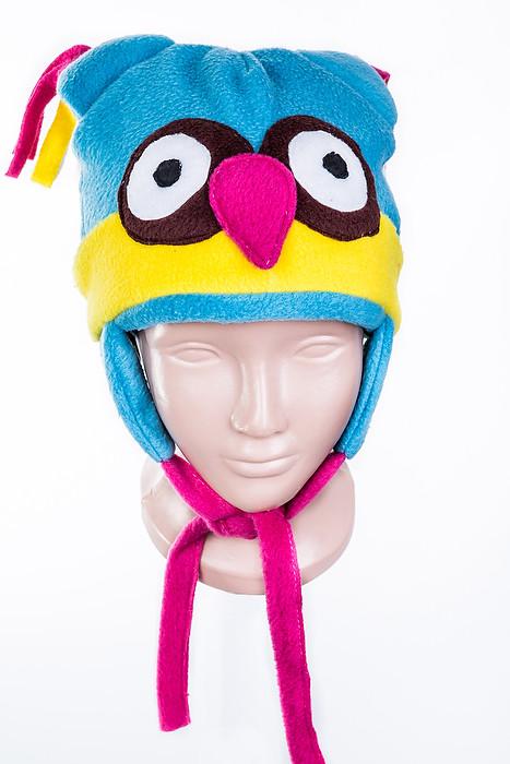 Шапка детская флисовая Птичка