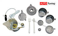 AL KHATEEB - Чайник автомобильный, кофеварка, 2 чашки, ложка и вилка, Coffee Maker, 24V, CP-23024