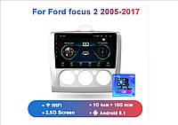 Junsun 4G Android магнитола для ford focus 2  2005-2017 wifi