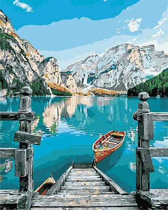 AS0383  Набор живописи по номерам Горное озеро, фото 2
