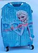Чемодан дорожный детский с кодовым замком 52 см ручная кладь Холодное Сердце Frozen двусторонняя 11961-1, фото 5