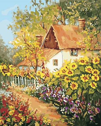 AS0381  Набор живописи по номерам По дороге в детство, фото 2