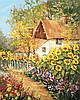AS0381  Набор живописи по номерам По дороге в детство