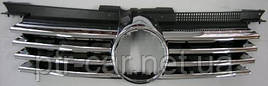 Накладки на решетку (6 шт, нерж) - Opel Zafira B 2006-2011 гг.