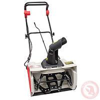 Снегоуборщик электрический, INTERTOOL SN-1600 (1,6 кВт, рабочая ширина 500 мм)