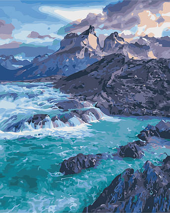 AS0375 Набор живописи по номерам Прибрежные скалы, фото 2