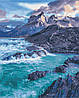 AS0375 Набор живописи по номерам Прибрежные скалы