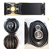 Крутой набор Авто-Звука с Магнитолой Pioneer 4011B+ овалы + круглые 16 см! + ПОДАРКИ!