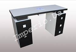 """Маникюрный стол M117 """"Триумф на две тумбы """""""