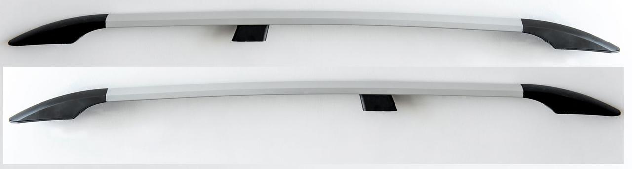 Рейлинги Серый металлик (2 шт) - Renault Scenic 2003-2009