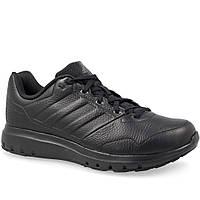 Кроссовки мужские adidas Duramo Trainer Lea BB5027 (черные, беговые, кожаные, для тренировок, бренд адидас)