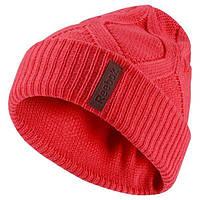Зимняя шапка reebok женская с заворотом AB1197