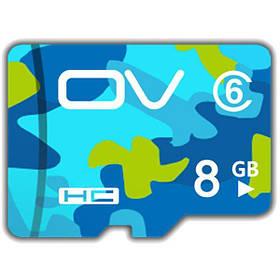OV Версия для камуфляжа Класс 6 Карта памяти TF 8GB для сотового телефона - 1TopShop