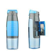 Бутылка для воды StreetGo cardholder blue (SGWBB00002)
