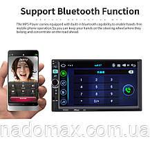 Автомагнитола 2din Pioneer 8702 GPS, WiFi, Bt Android 5 НОВИНКА 2018 + КАМЕРА, фото 2