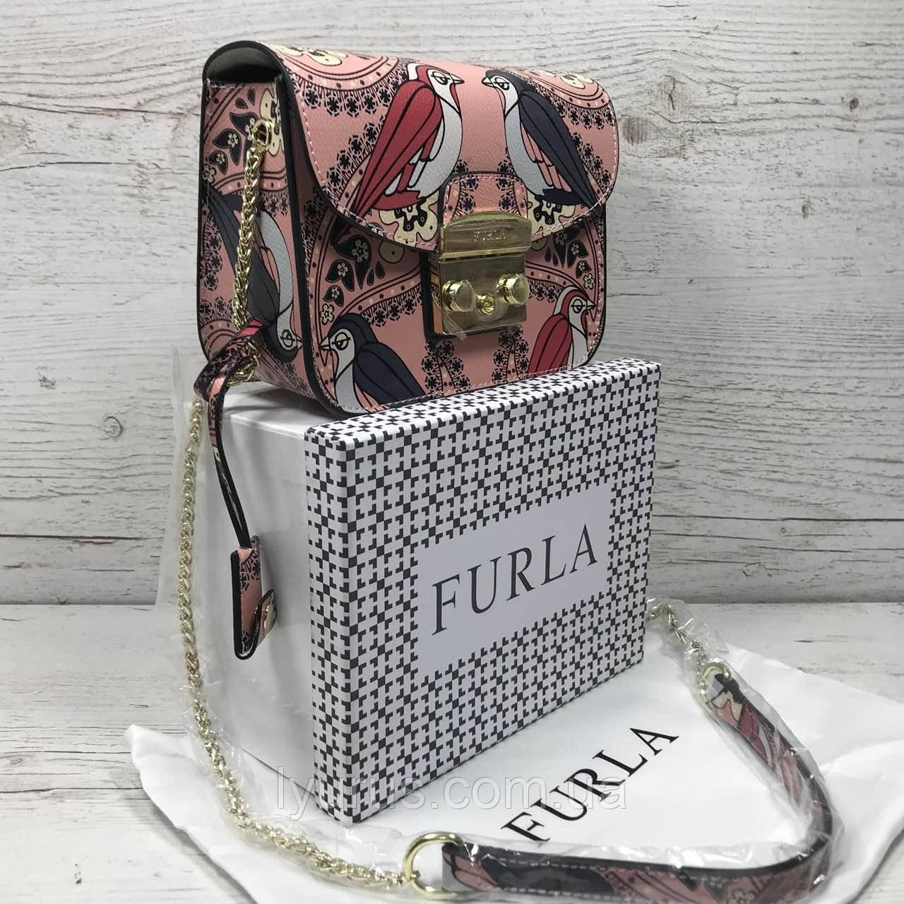 0ddb1db57e39 Кожаная сумка клатч Furla metropolis разноцветье, цена 1 750 грн., купить в  Полтаве — Prom.ua (ID#818003588)