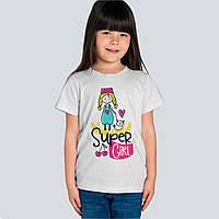 Футболка детская с рисунком Super Girl