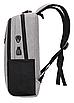 Рюкзак городской Menxia Черный, фото 3