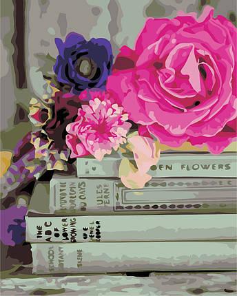 AS0331  Набор живописи по номерам Любимые книги, фото 2