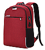 Рюкзак городской для ноутбука Menxia Красный