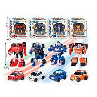 Робот трансформер Tobot 339-1 (робот трансформер тобот): размер 15см, 4 вида