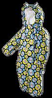 """Зимний комбинезон, сдельный """"Мишки"""" для малышей р.80-98 ТМ Pidilidi-Bugga (Чехия)"""