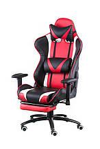 Крісло офісне геймерське еxtrеmеRacе black/rеd with footrеst